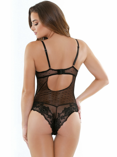 Hot Love Lace Teddy