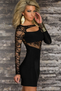 I Like It Slow Lace Mini Dress