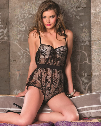 In Your Dreams Sexy Lace Teddy