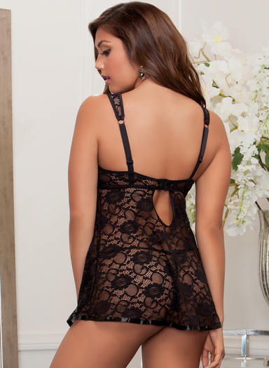 Innocent Sin Sexy Lace Babydoll