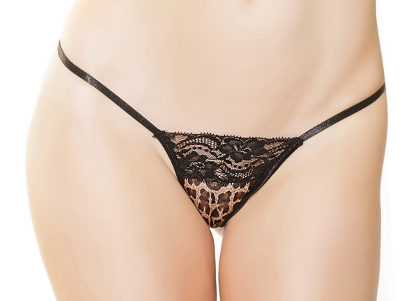 Jane's Leopard Sexy Thong