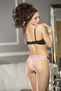 Jennifer's Seduction Pink Lace Bra & Panty Set
