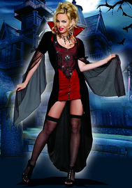 Killing Me Softly Sexy Vampire Costume