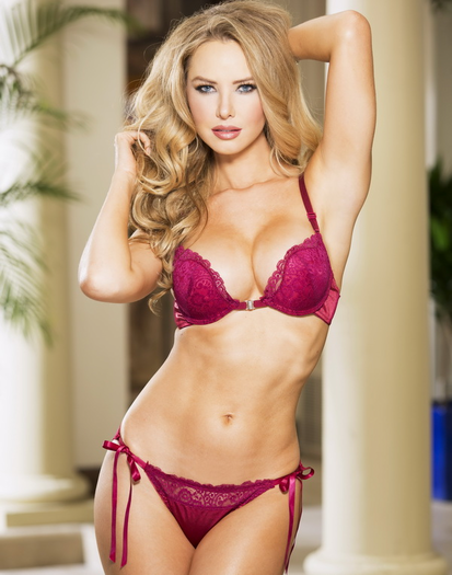 Kimberly Secret Crush Push-Up Bra & Panty Set
