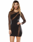 Long Sleeve Lover Little Black Dress