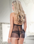 Look Into My Eyes Lace Babydoll & Thong Set