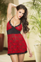 Love Is In The Air Babydoll & G-String Set