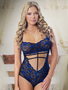 Love Me Lace Strappy Teddy