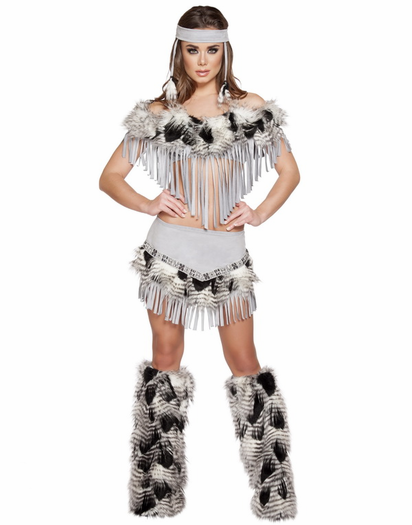 Sexy indian maiden costume-3780