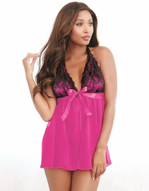 Magical Romance Babydoll & Thong Set