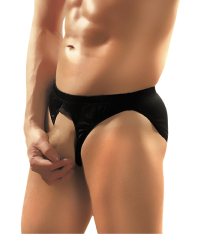 Male Power Nylon Lycra Pouchless Brief