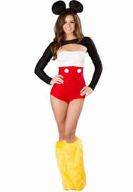 Missy Mouse Sexy 3 Piece Costume