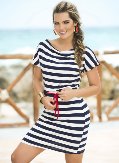 Nautical Nights Sexy Sun Dress