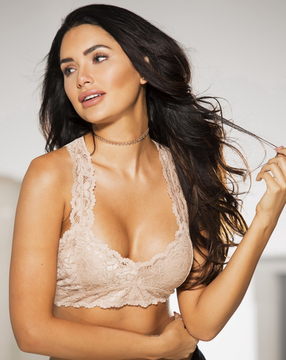 Nude Lace Bralette Top