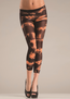 Orange Tie Dye Tights