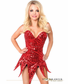 Passionate Sequin Sexy Corset Dress