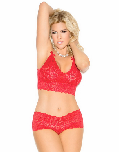 Plus Size Diana's Crush Sexy Lace Set