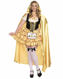 Plus Size Goldilocks Sexy Costume