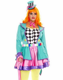 Plus Size Hatter Hottie Sexy Costume