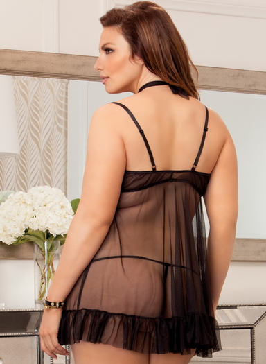 Plus Size Romantically Involved Sexy Babydoll
