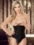 Plus Size Sexy Black Waist Training Cincher