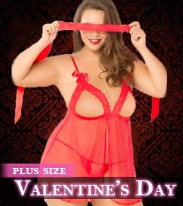 Plus Size Valentine's Day Collection
