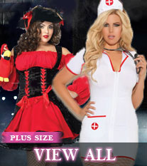 Plus Size Costumes - View All