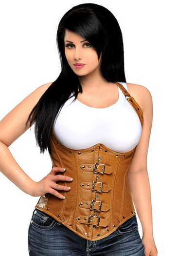 Plus Size Wild West Honey Sexy Steel Boned Corset