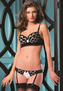 Polka Dot Princess Sexy 2 PC Bra Set