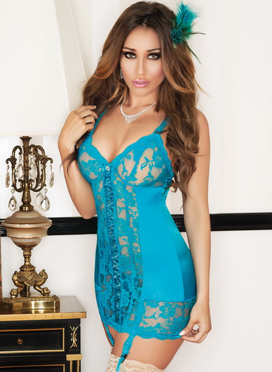 Pretty Little Pleaser Sexy Chemise