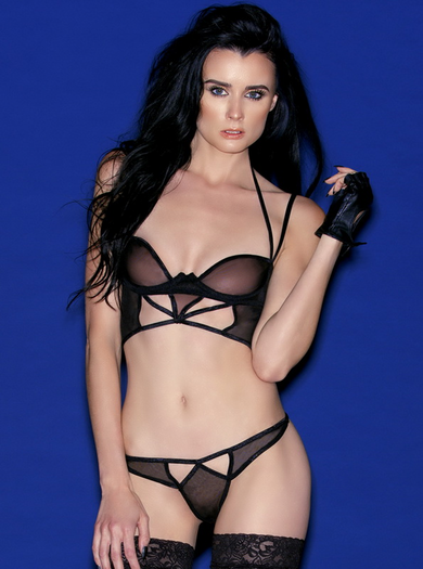 Queen Of The Night Sexy Bra Set