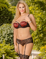Scarlet Secret Removable Cup Bra & Garter Panty Set