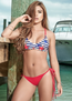 Sea Star Striped Bikini Top & Bottoms Set