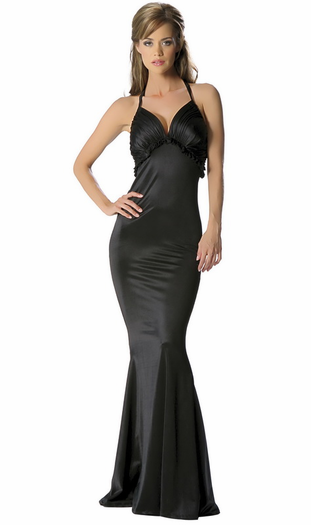 Seducing Siren Sexy Halter Mermaid Gown