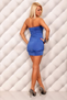 Sexual Fantasies Blue Mini Dress