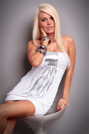 Sexual Fantasies White Mini Dress