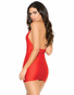 Sexual Splendor Satin Mini Dress