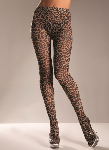 Sexy Leopard Pantyhose