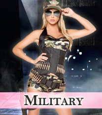 Sexy Military Costumes