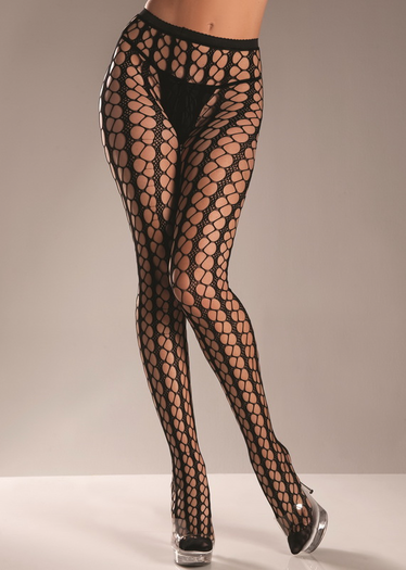 Sexy Warning Net Pantyhose
