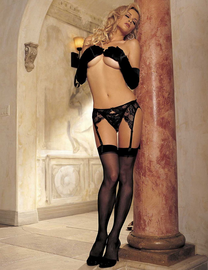 Sheer Nylon Stretch Stockings