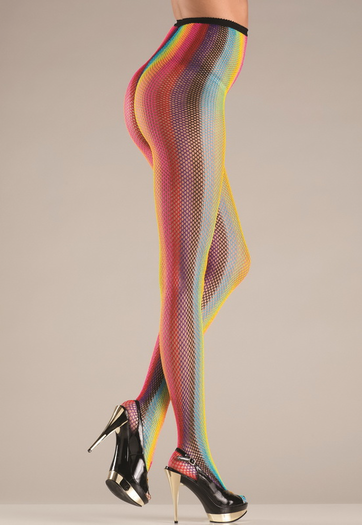 Shimmering Rainbow Pantyhose
