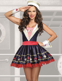 Shore Thing Sexy Sailor Costume
