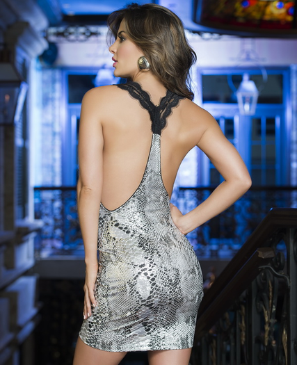 Silver Dreams Sexy Dress