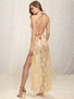 Simply Elegant Floral Lace Gown