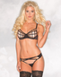 Spider web Seduction Strappy Bra & Panty Set