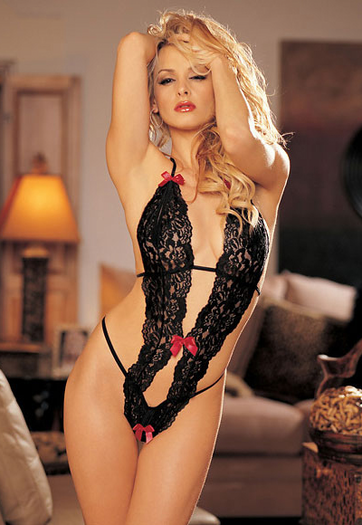 Start At The Bottom Lace Teddy