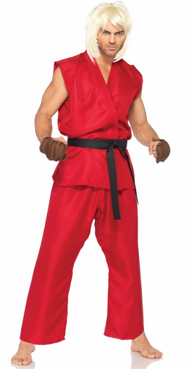 Street Fighter Costumes Mens Street Fighter Costumes