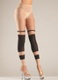 Striped Footless Tights