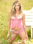 Summer Nights Sheer Cami & Panty Set